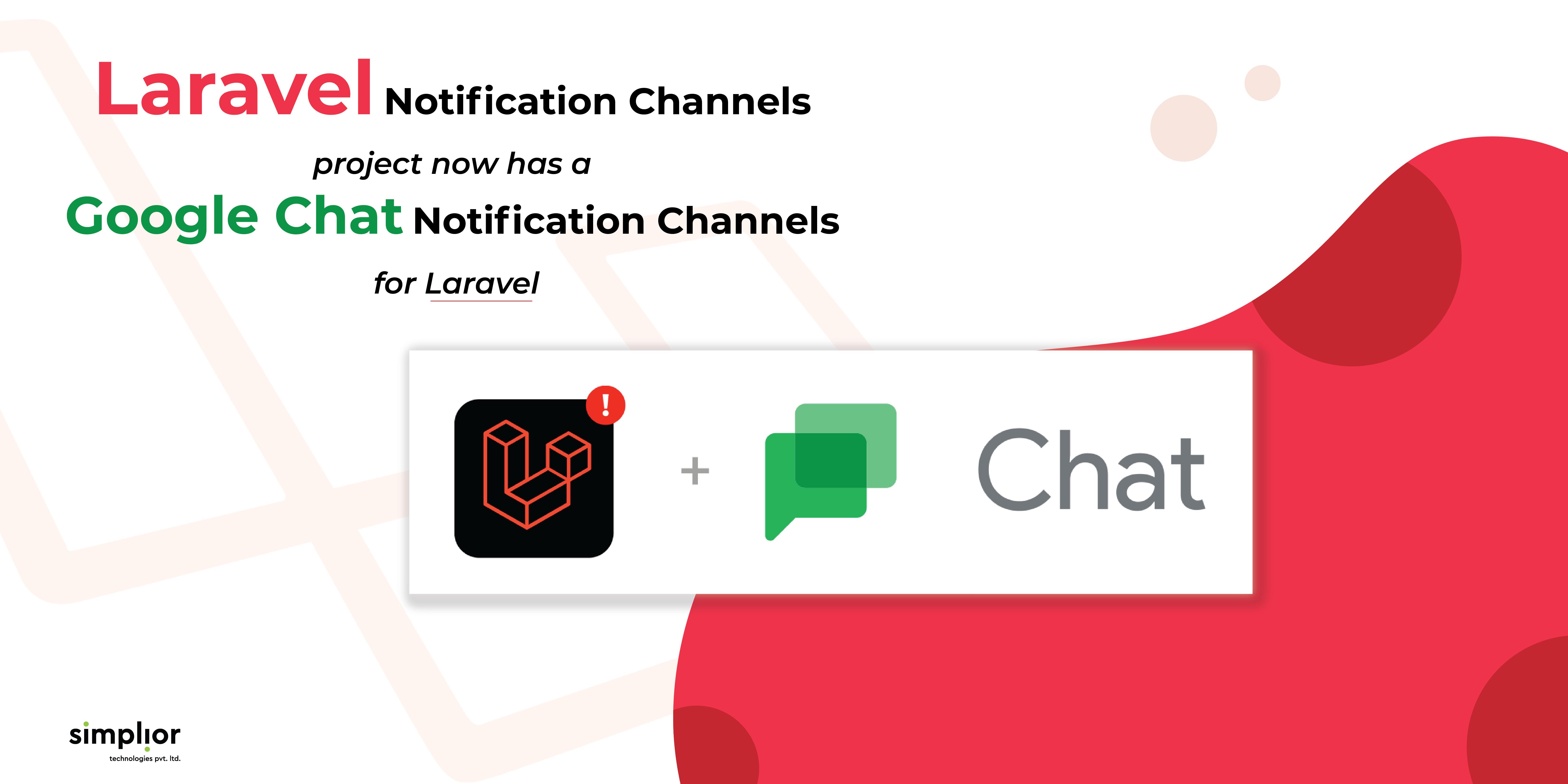 Laravel-Google Chat-Simplior